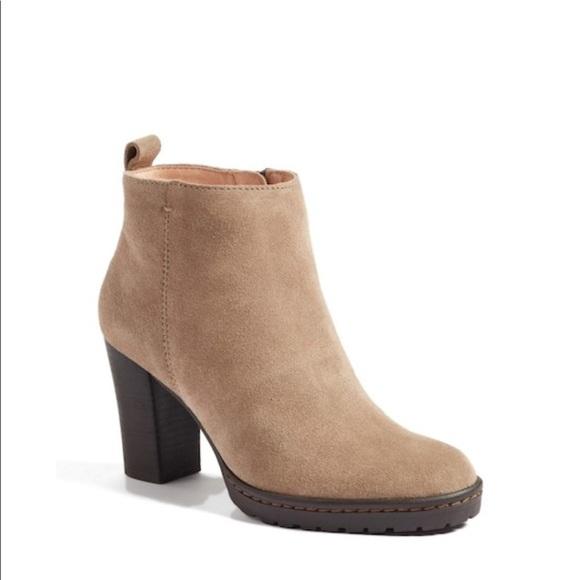 a5b35b3e04a Caslon Shoes - NWOB Caslon Suede Taupe Ankle Boots